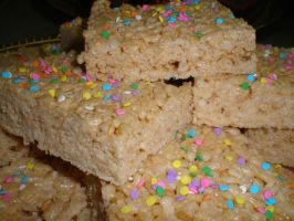 Rice Krispy Treats by amysalmon