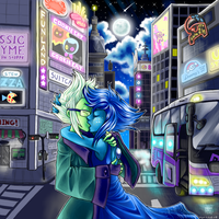 In the City by Manasurge