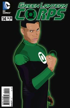 Cosplay Illustration: Green Lantern by claudioboguma