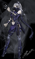 Gift - Shadow Ninja Sophia by Synful-Lynkx