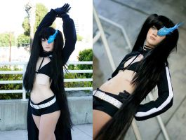 Black Rock Shooter by RuffleButtCosplay