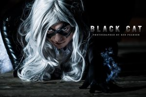 Cosplay - Black Cat by Kyatto