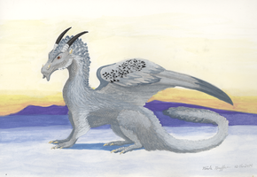 Asha the Dragon by SlateGray