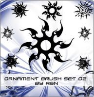 Ornament Brush Set 02 by rosinaxd