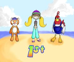 Diddy kong racing by punchygirl