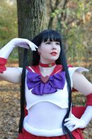 Super Sailor Mars by BellaHime