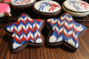 Americana Star Cookies by picworth1000wrds