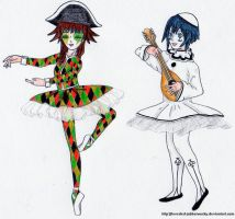 Circus act by Inverted-Jabberwocky