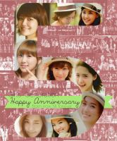 SNSD - 5th Anniversary by sayhellotothestars