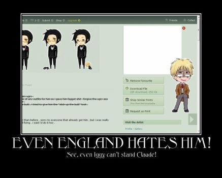 See, EVEN ENGLAND HATES HIM by Nati84