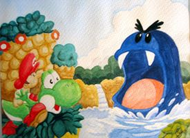 Yoshis_Island by FlintofMother3
