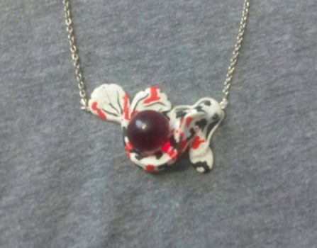 Koi necklace  by Spencer0926