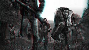 Walking Dead 3-D conversion by MVRamsey