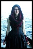 The Hooded Gown by Temperate-Sage