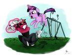 Twilight's Battle With Tirek by poecillia-gracilis19