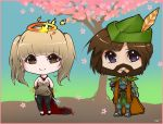 RS: Mini Chibis Glacor and Elliot's Friend by Tifa-Amakura