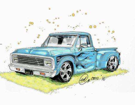 Chevy '71 by papirunguis