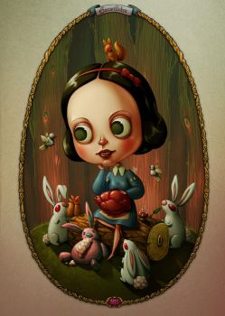 Snow White reimagined by room4shoes