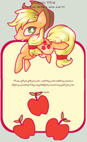 AppleJack Journal Skin by AbyssinChaos