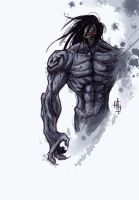 Darksiders 2: Death scribble by JerryTengu
