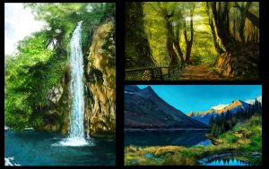Studies from photos by Gycinn