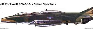 McDonnell Rockwell F/A-68A ''Sabre Spectre'' by Bispro