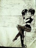 Kiss me in toxic by lucifera-demonessa