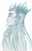thranduil by EvrisBS
