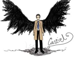 Castiel by Shmikoprincess