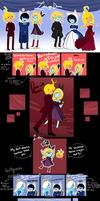 Finn and fionna childrens: Lets go dance minicomic by malengil