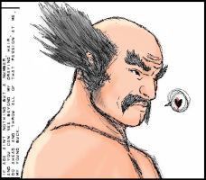 Heihachi Mishima in 5+ minutes by Milla87
