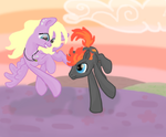 Fire Arc and Palette: OC Request by Legend-Seeker-MLP