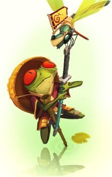 Samufrog Masterdragonfly by guitwo2000