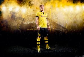 MARCO REUS - WALLPAPER by THEMADJUMP