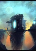 Station by ilya Tyljakov (speedpaint) by RaZuMinc