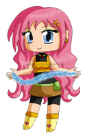 Chibi Shampoo: Water Powers by izka-197