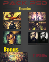 Pack PSD ThunderBR by ThunderBR