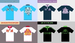 Polo-tee designs by Tiamate