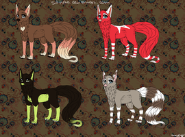ADOPTABLES OPEN! by Satuka