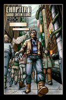 Page 1 of Graphic Novel Again by BlotchComics