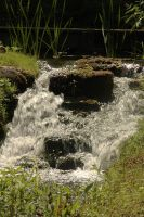 small waterfall by marob0501