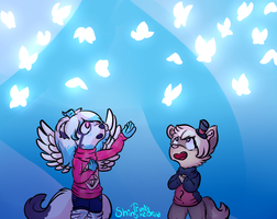 (Collab) And it was just a thought... by Shinyxzorua