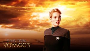 Star Trek 7 of 9 Jeri Ryan First Contact Uniform by gazomg
