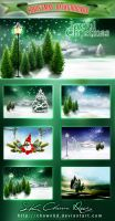 Christmas Background by DIGI-3D