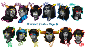 Trollstuck - Homestuck stuffs by Bhryn