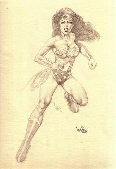Wonder Woman by WaltBarna