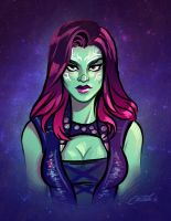 Gamora by CrystalCurtisArt