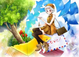 Letter play by nao148