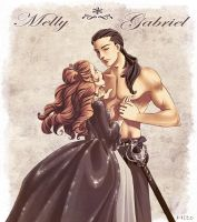 Melly et Gabriel by Hito76
