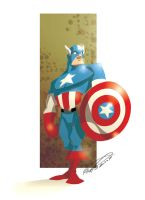 Captain America by makampo